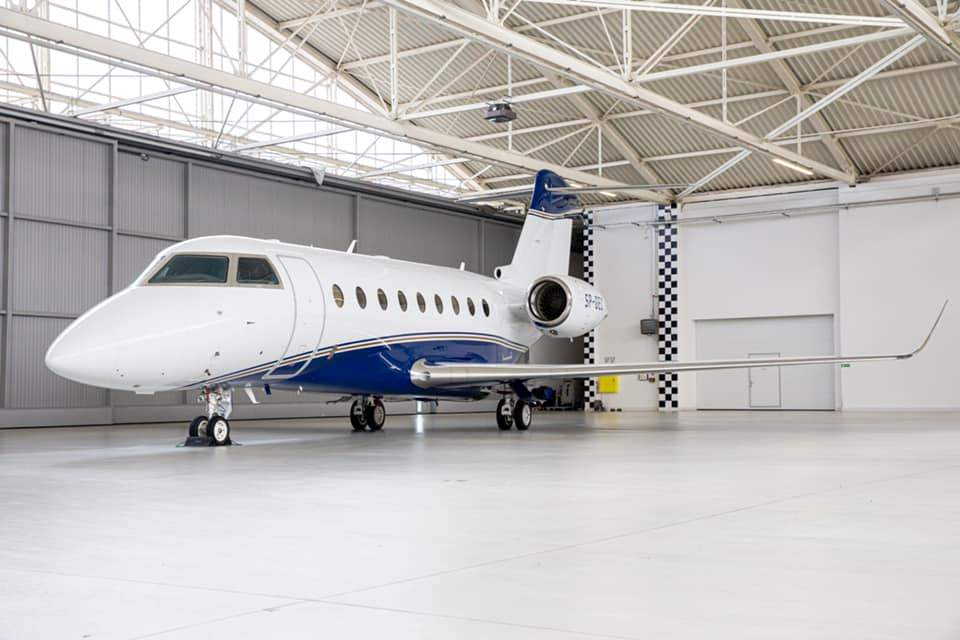 Trzeci Gulfstream G280
